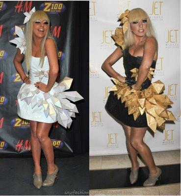 LADY GAGA - Born This Way - 23/05/11 Lady-gaga-origami-dress